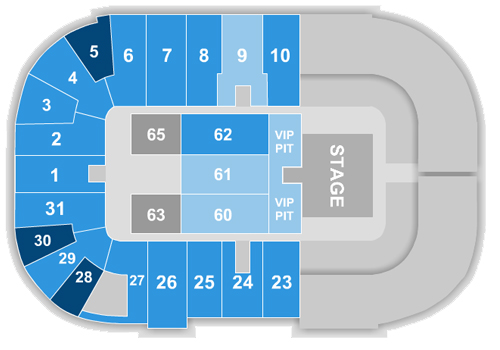 Alan Jackson Seating Chart
