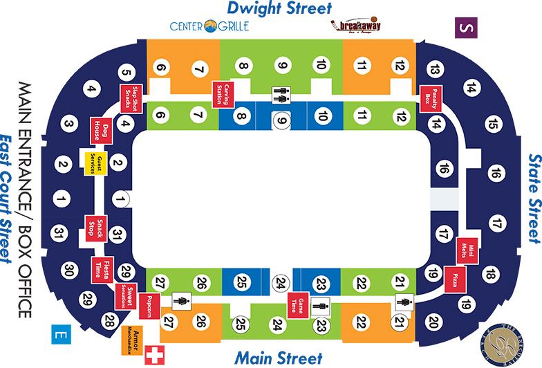 General Arena Map