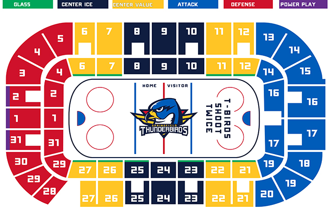 Seating Chart  Massmutual Center