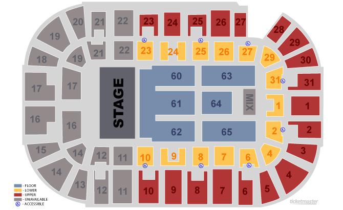 Massmutual Center Seating Chart Related Keywords Suggestions